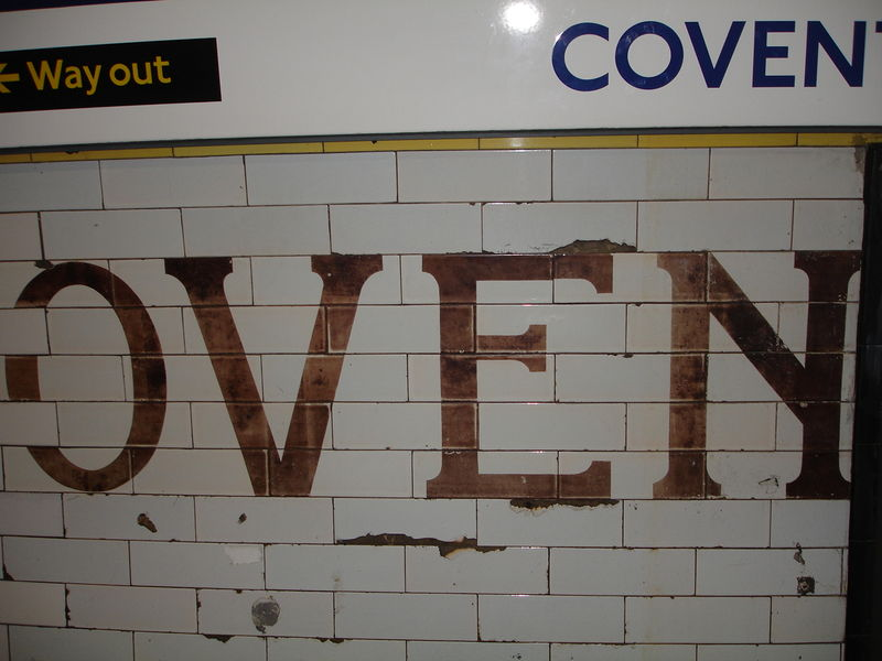 London Underground : Station Covent Garden