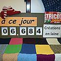 Tricot compteur du jeudi 6 février 2014 : en route vers les 7000 créations !!!