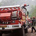 L'incendie de lacanau ne progresse plus mais n'est pas éteint