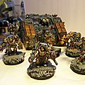 Space Wolf, terminator et <b>land</b> <b>raider</b>