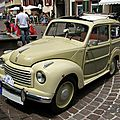 Fiat topolino 500 c belvedere-1953