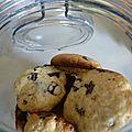Cookies moelleux aux pépites de chocolat home made