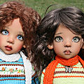 Des jolis pulls brodés pour Missy et Layla