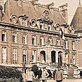 Trelon - centenaire de la présence du kaiser au château