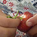 Confiture de fraise à la bergamote
