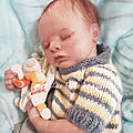 bébé reborn Maé ( 270€ )