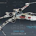 LUKE SKYWALKER'S X-WING STARFIGHTER RED 5, eFX COLLECTIBLES