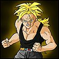 Fan art - trunks from the future super saiyen - dragon ball z