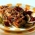 <b>Gratin</b> de légumes aux céréales méditerranéennes (plat pour 4 personne)