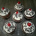 cupcakes forêt noire1