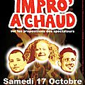 Impro'a chaud à st paul le 17 octobre