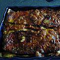 Lasagne de veau aux legumes