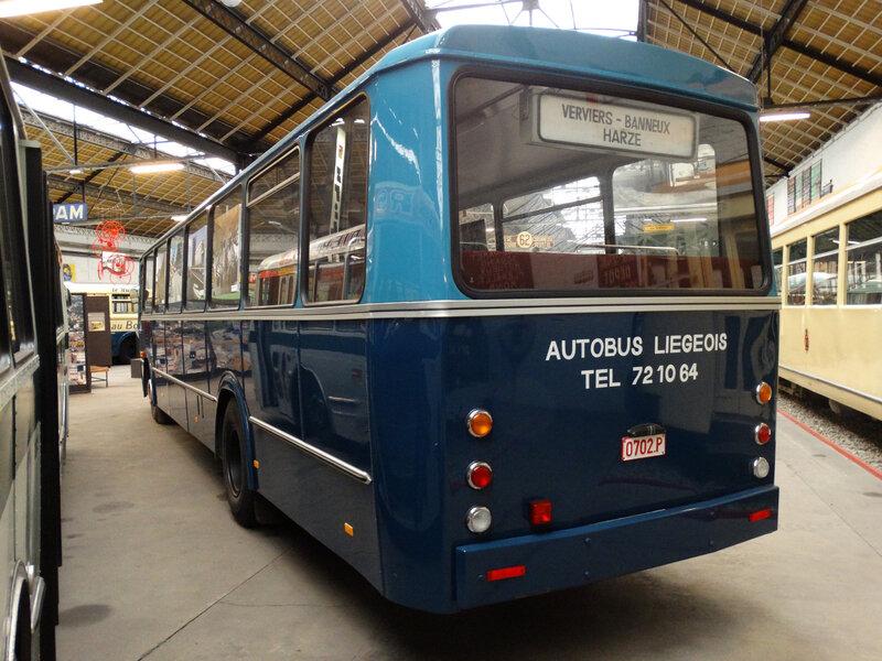 LEYLAND Royal Tiger Worldmaster 2A-1R Autobus Liégeois 1972 Liège (2)