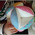 Balles de préhension Montessori