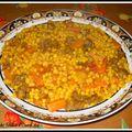 <b>Aîch</b> ou Berkoukes (plombs à l'algérienne)