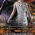 [cover reveal] the mortal instruments t6, city of heavenly fire - cassandra clare