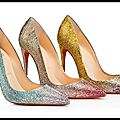 Escarpins So Kate - Dégradé de Strass - <b>Christian</b> <b>Louboutin</b>