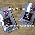 Wild Rose product - Echantillons promotionnels 1.2 ml