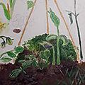 Le tipi à Tata - jardinage amateur
