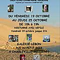 Expo-vente galerie lebon, charleville-mézières