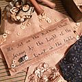 SEWING THEME: Ma sat on the rocking chair sewing by the light at the table US$ 10.50