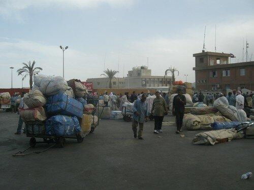 Arrivee dans le chaos, Nuweiba, Egypte