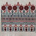 Mystery sampler 2017 linen and threads