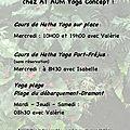 AT AUM Yoga Concept