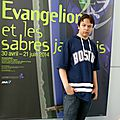 Evangelion et les sabres japonais, exposition à paris