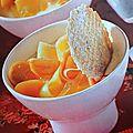 Salade mangue-papaye à l'asiatique