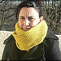 Honey Cowl de Medelinetosh