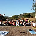 Workshop de kundalini yoga pour les membres de l'association j'aime le maroc