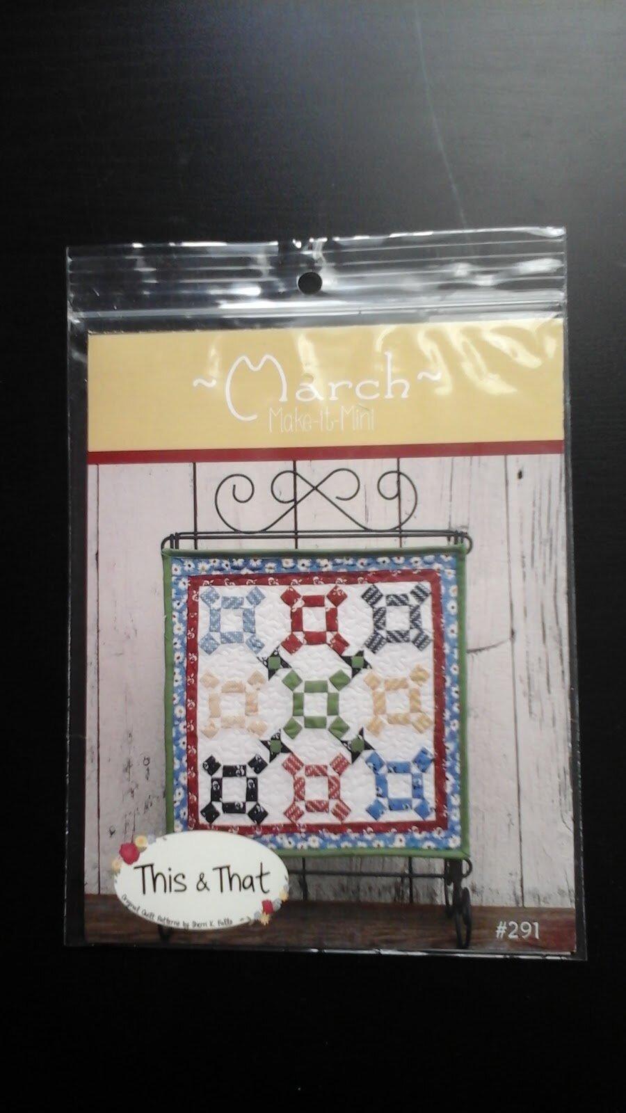 Mini patchwork
