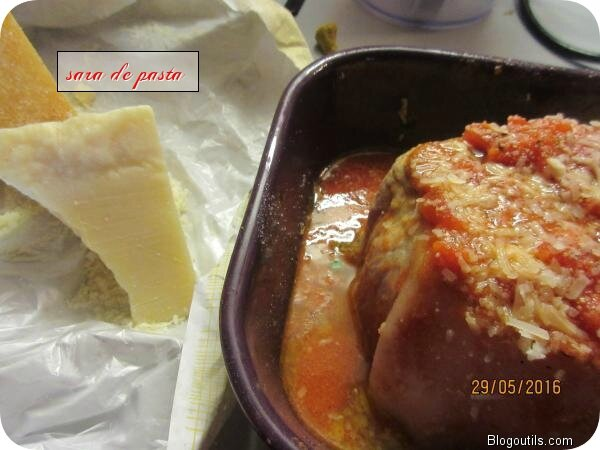 Rôti de porc à la Toscane.