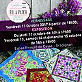 Exposition de l'atelier <b>Fil</b> <b>à</b> <b>Patch</b>