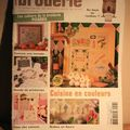 Ouvrages broderie- mars 2004
