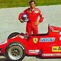 Patrick Tambay sur Ferrari F1