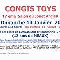 Salon du jouet ancien le dimanche 14 janvier 2018 congis toys