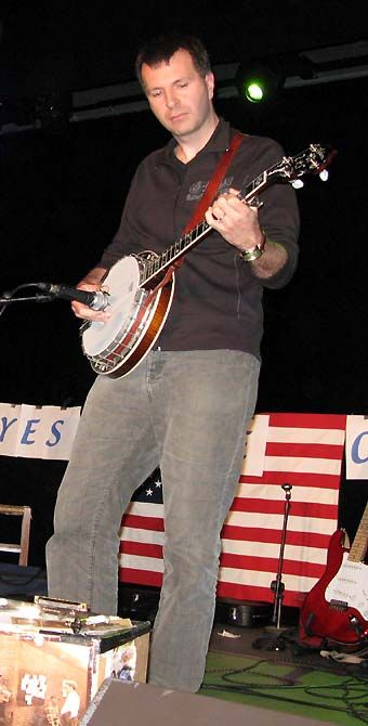 Julien au banjo