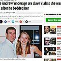 <b>Jeffrey</b> Epstein l'ami du prince Andrew, au coeur d'un réseau de chantage?