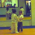 Au judo - septembre 2010