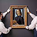 Sotheby's to offer <b>Sandro</b> Botticelli's Renaissance masterpiece 'Young Man Holding a Roundel'