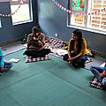 Sharing pictures of psychomotor training