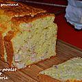 Cake au poulet et au brie