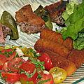 Brochettes de porc à la provençale