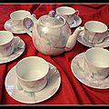 Service à thé Marie