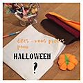 Boo! fantômes et autres mignoneries d'halloween!