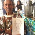 portrait d un vieil homme, mexico city, mexique