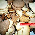 Noël 2012 - n°1 - sablés pour le marché de noël de l'ecole