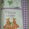 carnet de santé pour Malone